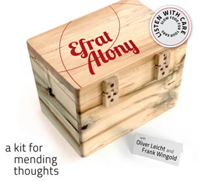 Albumcover: Efrat Alony, A Kit for Mending Thoughts